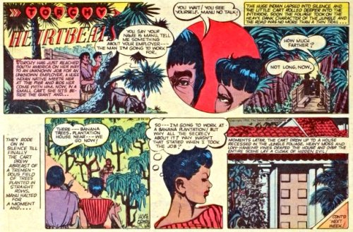 vocaloreclaimedsoul:  blackfolksmakingcomics:  Jackie Ormes (1911 - 1985) To say Mrs. Ormes is an inspirational creator and ahead of her time is an understatement. Born Zelda Jackson, she was a journalist who was hired as a proofreader of the Pittsburgh Courier, one of the first major and most influential Black newspapers in the country. While at the Courier, Ormes created Torchy Brown in Dixie to Harlem, a story about a teenage singer from Mississippi who realizes her dream to perform at the legendary Cotton Club in Harlem, New York.   After moving to Chicago in 1942, Mrs. Ormes wrote for another influential Black newspaper, the Chicago Defender (ironically a sibling publication to the Pittsburgh Courier since 2003) where she contributed feature stories, a social column, and after the end of the second World War, a one-panel comic strip called Candy (not to be confused with Alvin Hollingsworth's comic strip Kandy), which was the misadventures of a sharp-witted housemaid who didn't conform to the stereotypical Mammy archetype of the era but rather shapely, attractive, and realistic, a rarity in any medium. Mrs. Ormes returned to the Courier in 1947 and created a new one-panel strip that lasted 11 years. Patty-Jo 'n' Ginger chronicled the lives of a pair of sisters, a short, opinionated, sharp-tongue little girl named Patty-Jo and her older, statuesque sister Ginger. Patty-Jo was also the inspiration of a popular doll produced by Terri Lee Dolls and noted for its realistic Black American features as opposed to the Topsy/Mammy dolls of the day. Only produced for two years, the Patty-Jo dolls are collectors items.  1950 brought the reintroduction of Mrs. Ormes' Torchy Brown, who was no longer a teenage performer but now an independent woman looking for love and a place in this world while taking on issues of the day, particularly civil rights, in a new full-color title, Torchy Brown in Heartbeats. In 1957, Mrs. Ormes retired from comics but continued to create fine art and living a busy social life throughout the Chicago area.   Pretty dope, if I do say so myself…