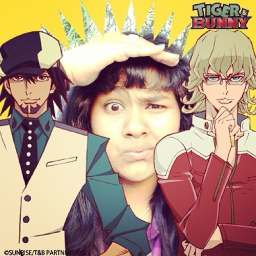 Someone's been with some heroes!!! #kotetsu #barnaby #tigerandbunny #jannysface #super #groovy #sup #supface #anime #shonen