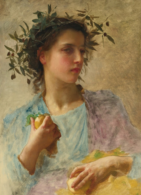 aurosanlo:  William Adolphe Bouguereau (1825-1905) L'éte oil on canvas
