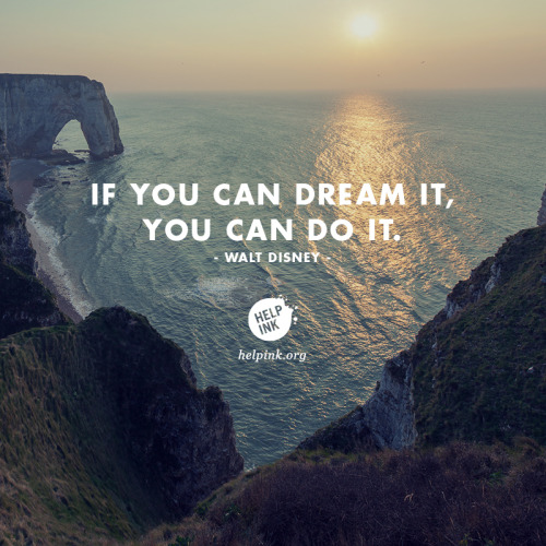 You can do it…