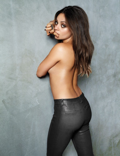 Mila Kunis, those are some tight pants…