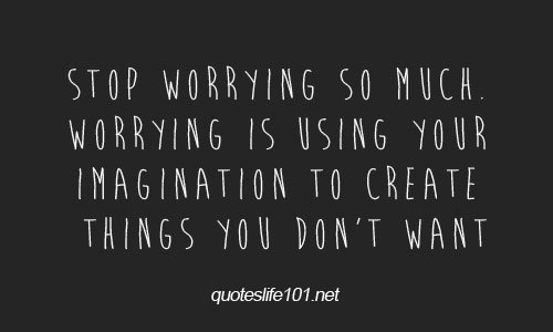 Worrying is killing me so' slowly http://weheartit.com/entry/59511857/via/Mcm_Mabingnay