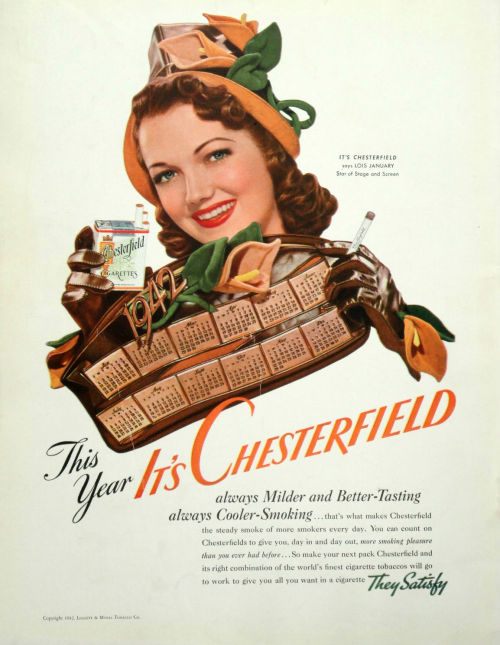 Chesterfield 1942