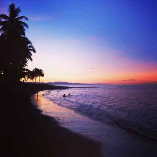 #sunset #2012  (at Charlita Beach, Sacol)