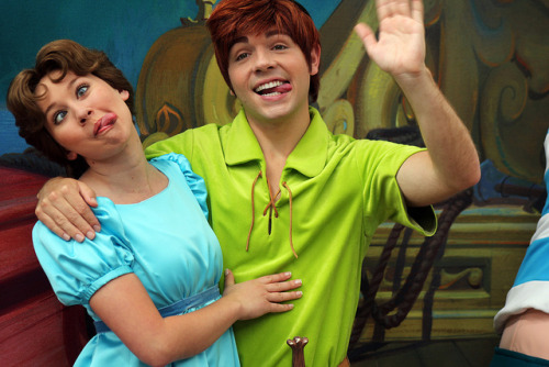 Peter Pan and Wendy on Flickr.