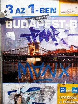 redjade:  Budapest, 7th District Trolley Stophttps://www.facebook.com/BudapestiGraffiti  © redjade