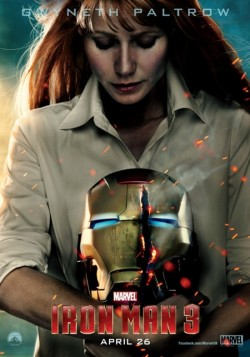 New Iron Man 3 Pepper Potts Movie Poster