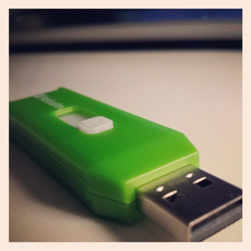 This is my spare flash drive, so I named it Cedric. It is green, much like the killing curse that led it to its fate. #delirious #killthespare #myboy