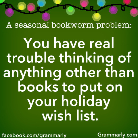 Which books are topping your wish list this year?
