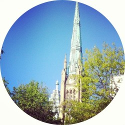 #cathedral #spire #Toronto  (at St. James Park)