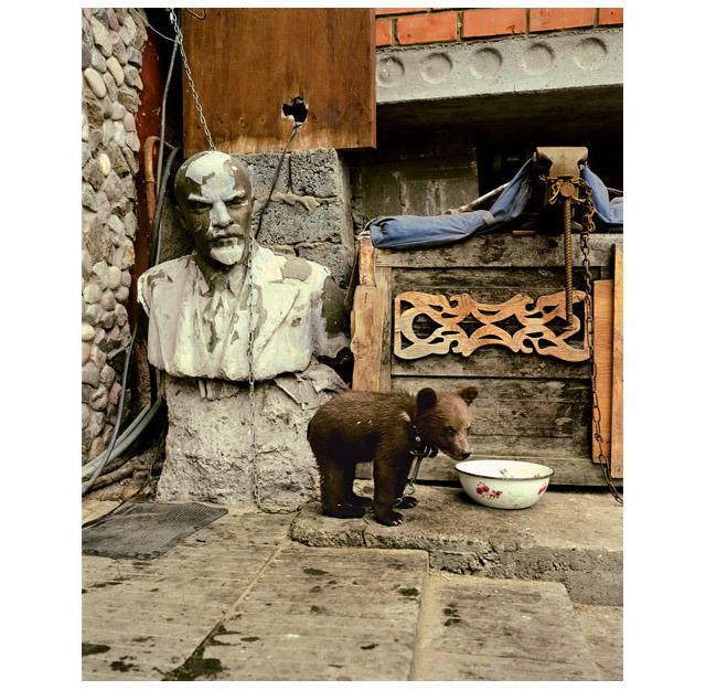 © Andrew Moore, 2000-2004, Misha and Vladimir Lenin, Lake Baikal / Russia