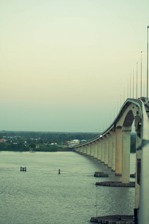 Suriname Bridge By parbo24 (Jair Van Brussel)