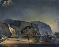 """Mountain Lake"", 1938  By: SALVADOR DALI…."