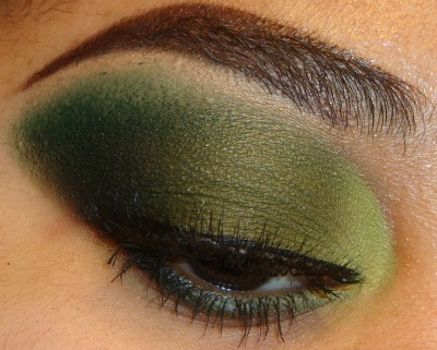 My New Green Eyeshadow Tutorial using bhcosmetics 88 cool matte palette here http://youtu.be/FibT6-828oU at http://www.youtube.com/makemeupbywhitney