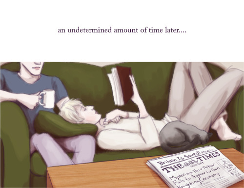 theunsinkable:  Once Upon A Dream: An Arthur/Merlin comic UM, OKAY. I don't quite know how to sum this up briefly, because I feel like this has completely taken over my life for the past few weeks. I'm not even sure how this idea hatched itself, but suddenly I was like I MUST DO A SLEEPING BEAUTY-INSPIRED ONCE AND FUTURE KING COMIC BECAUSE OMG ARTHUR WOULD BE THE PERFECT SLEEPING BEAUTY ♥_♥ And thus, this was born. (Full post is here on livejournal because idk how you're even supposed to post comics on tumblr…) I guess I drew my last Merlin/Arthur drawing not knowing that it would basically be the same universe as this ridiculous comic. I JUST WANT THEM TO BE HAPPY AND CUDDLY OK
