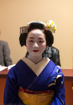 okiya:  Maiko Toshiyui, Miyagawacho (by self-unemployed)