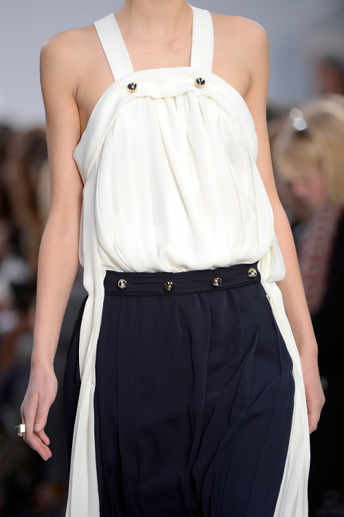 Chloe Fall 2013 RTW. Always love the simple elegance of the Chloe collections.