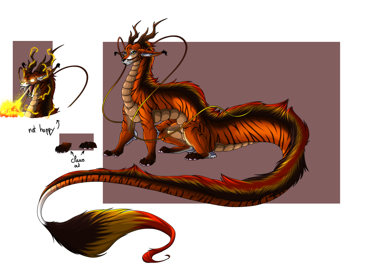 Took me a while to get the right colorAndI had much more fun on doing fire this timeCiara © Me #Dragon#Dragoness#Dragon Ball #Dragon Ball Z #DBZ#DBZ OC #Dragon Ball OC #OC#Creature#Tiger#dragons#Wings#Fire#Eastern#Eastern Dragon#Fur#Cute#Ciara#CiaraCocanovacci