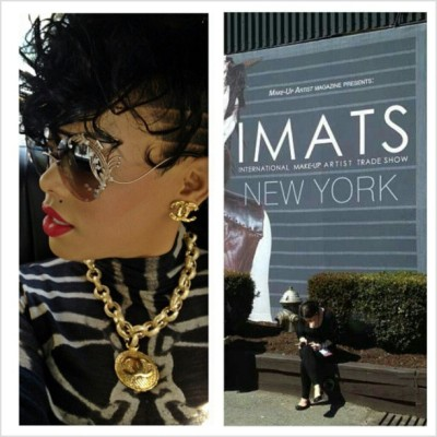reporting LIVE from #IMATS #NEWYORK!! #NYC come meet @KeyshiaKaoir! #Booth803 @KAOIR Available for Sale! #IMATSNYC