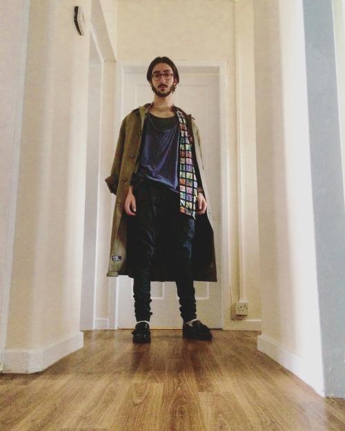 fashion Calvin Klein coat vintage bolongaro trevor twisted jeans vintage shirt hurry
