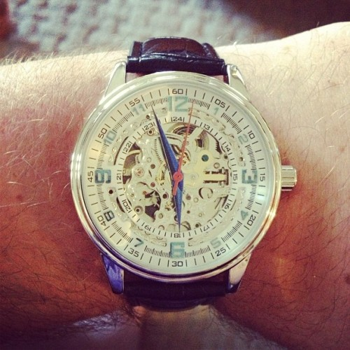$500 watch for $94! Thank you @jackthreads!! #watch #sales #sexy