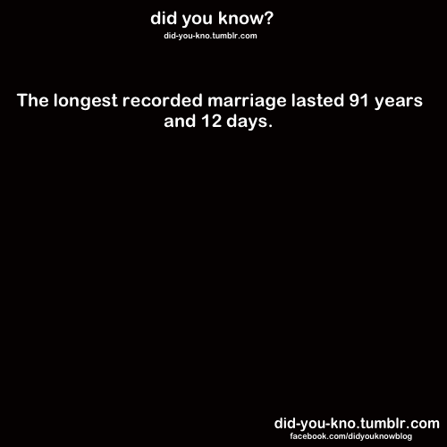 did-you-kno:  Source  They were 13 and 14 years old on their wedding day!