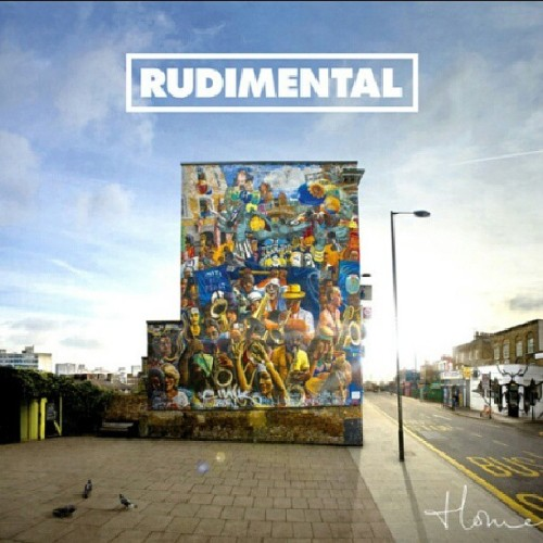 Diggin' Rudimental's album cover #Dalston #LondonArt #London #HOMEalbum #Bangers #No.1