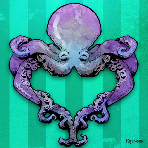 octo love by *BrianKesinger