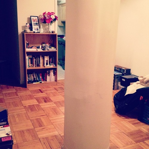 Random pillar in the middle of our apartment…. Ok berks