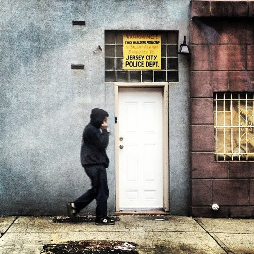 Warning. #jerseycity #street #snapshot #jc #nj #signs #signage (at Historic Downtown Jersey City)