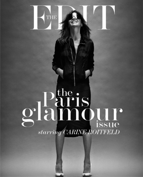 Net a Porter celebrates Paris Glamour with the epitome of Parisian chic, Carine Roitfeld.