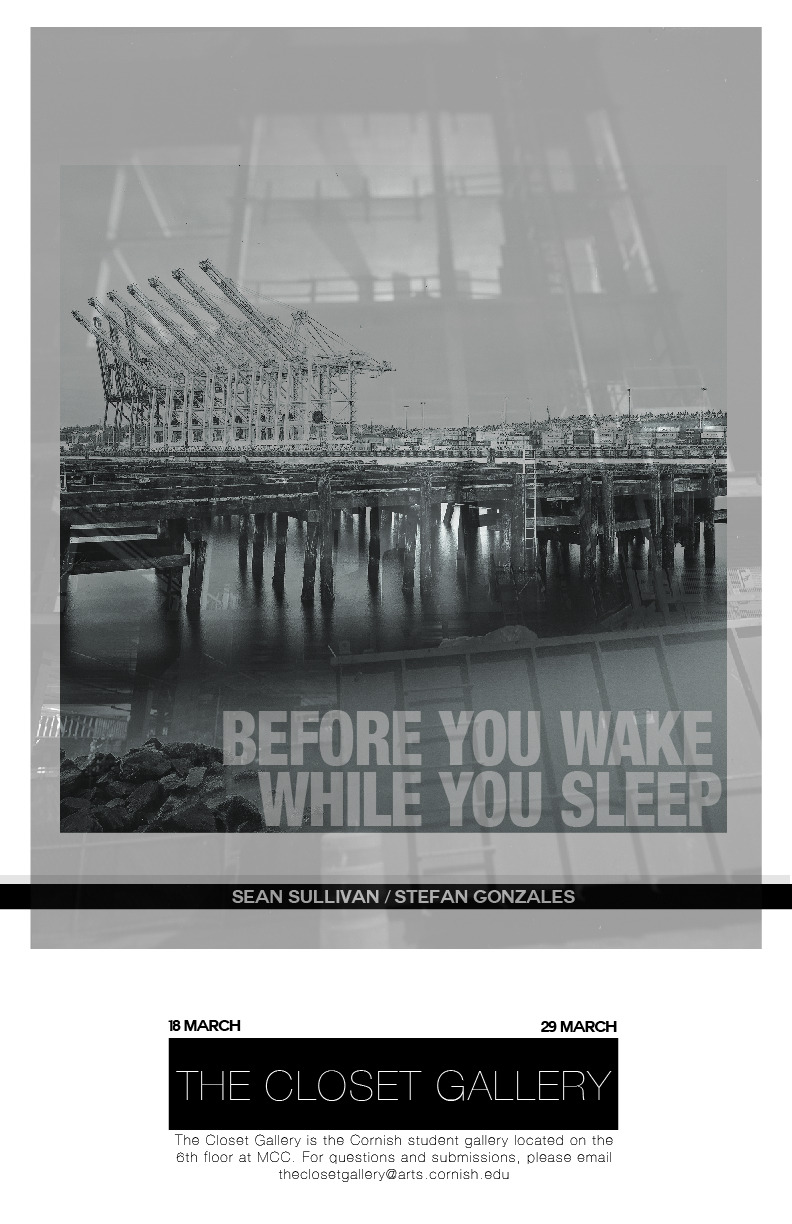 Sean Sullivan / Stefan Gonzales Before You Wake / While You Sleep18 March - 29 March
