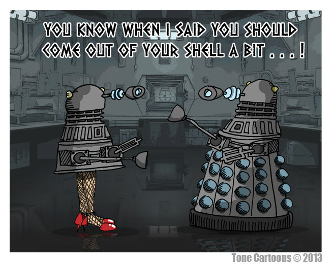 dailydalek:  (via Day 320: DA-LEGS ?)