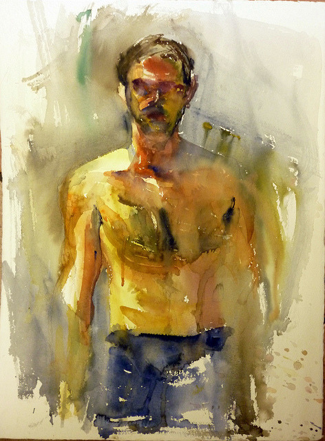 study by stathis_mavrides on Flickr.watercolor study