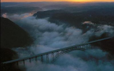 """Bridge in the Clouds."" From Pixdaus (posted by Duane1947)."