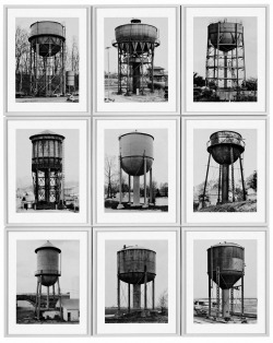 arrestomomentum:  Bernd & Hilla Becher - Water Towers