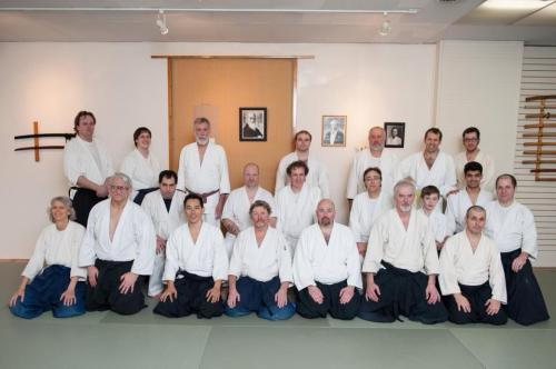 Aikido of Harvard's Friendship seminar with the Aikido Association of America.