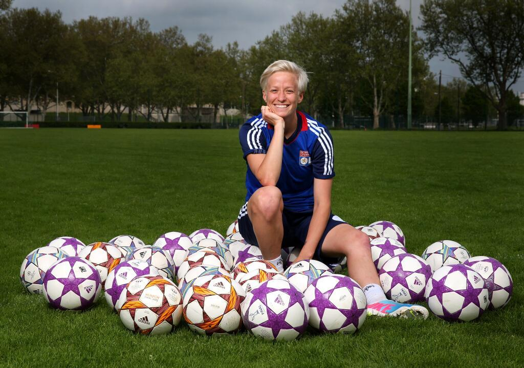 "olfeminines:  Rapinoe's 'unbelievable' Lyon experience United States winger Megan Rapinoe made Olympique Lyonnais even stronger this winter and she speaks to UEFA.com about Thursday's Stamford Bridge final and life in France. Olympique Lyonnais were already the dominant team in European women's club football when, in the winter, they signed two of the biggest names in the world game – United States winger Megan Rapinoe and Japan forward Shinobu Ohno. Of the two, Rapinoe has made the bigger immediate impact scoring in their UEFA Women's Champions League quarter-final against FC Malmö and again in their last-four defeat of FCF Juvisy Essonne. As the final with VfL Wolfsburg at Stamford Bridge on Thursday approaches, the 2011 FIFA Women's World Cup finalist and 2012 Olympic gold medallist talked to UEFA.com about adapting to France, how Lotta Schelin compares to Abby Wambach and the profile of this tournament in the US. UEFA.com: What have been the main differences between playing professionally here and in the US? Megan Rapinoe: Your whole life is here, with the club; you live in the city that you play in, and it's for such a longer period of time you can actually settle in. I played three seasons back home in the pro league that we had, but I never really lived in the cities, I lived there for five or six months at a time. It's much more enjoyable, in that sense, that you can go to your job, come home, and then you have your whole life here, which is really nice. UEFA.com: What were your motivations for joining Lyon this season? Rapinoe: To get to play with arguably one of the best teams in the world, the best club teams, it's kind of a no-brainer. I think when they showed interest and I showed the interest back, it was a mutual thing. And to be able to play in the Champions League is something that is huge for me; we don't have that back home, we didn't really grow up with that dream. Obviously I'm a huge fan of it, and to be able to come in and play in the big games and have that experience has been unbelievable. UEFA.com: What have been the key areas for Lyon's success this season? Rapinoe: The team is unbelievable, every player is amazing, there are so many good players sitting on the bench. But I think Patrice [Lair], our coach, does a good job of never letting us think: ""Oh, we're just so good."" He always wants the best out of us, no matter if we're winning 10-0 or it's 0-0 at half-time. I think that he really pushes us. UEFA.com: How is the French coming along, and does it present a barrier when you are on the pitch? Rapinoe: It's sort of coming along! It's pretty difficult. I'm not in proper lessons or anything, so if I come back for another season I'll definitely be getting lessons. On the pitch, a lot of people speak English so that helps, but I think I've learned the key terms, the key phrases on the pitch that I need. And a lot of times even if someone says something where I don't know exactly what they're saying, usually the tone and the situation, I can figure out that I need to get back in defence, or something like that. UEFA.com: Abby Wambach frequently benefited from your crossing ability; Lotta Schelin is only half a centimetre shorter and is no slouch in the air herself – is this a partnership made in the stars? Rapinoe: Yes, I think so! I think that in the short time we've played together we've built a pretty good connection. We're friends off the field as well and she speaks really good English, so that's obviously very helpful. But she's such a good forward, she makes really smart runs. She plays how I would want to play if I was a forward, so I think we're kind of on the same page a lot. She doesn't quite have the prowess that Abby does in the air, but I think she's much quicker and finds herself in front of goal in different ways. UEFA.com: What threat do Wolfsburg pose? Rapinoe: I think in general the German style is going to pose a different threat than we've had all season. I think the French league isn't as physical, which kind of allows us to be a little bit more technical, but I think that the German team and just the German style in general will bring much more fight, which I think can be pretty disruptive to our game. Hopefully not too disruptive. UEFA.com: What about the stadium, Stamford Bridge? Rapinoe: In the last two years, with the World Cup in Germany, getting to play in those stadiums, then [the Olympics] I played in Old Trafford, I played in Wembley, playing at Stamford Bridge – I couldn't even have dreamed this three years ago. To be in the Olympic final, in the World Cup final, and now playing in the Champions League final, how am I ever going to top this? It's pretty cool that we're able to play in these historic stadiums in some of the biggest games we'll ever play in. UEFA.com: How is the profile of this competition in America? Rapinoe: I think it's becoming a lot bigger, especially with more Americans coming over here; me and Tobin [Heath] are in France right now, and there are a few others all across Europe. So I think it's becoming much bigger in the US. A few years ago I think people knew about it, but it wasn't as popular. But now I think everybody knows about it, and the games can be streamed online so people are able to watch them. It's pretty cool to kind of have that dialogue with the fans back home.Go to UEFA.com to also watch a video with Rapinoe, talking about her experience in France."