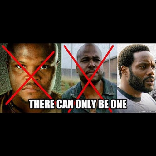 One more day! How long will the new black guy last? LOL #walkingdead #twd #amc #zombies #fuckyeah #thewalkingdead #zombie ##