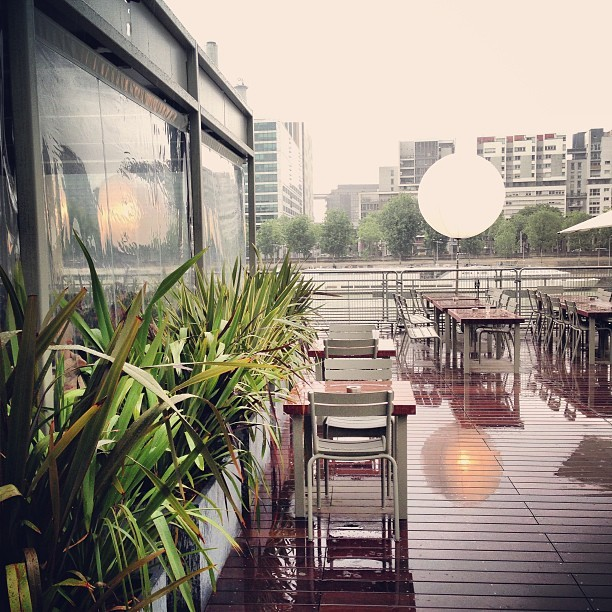 Perfect #rainy #spring #weekend in #Paris as usual // #IFM #Wanderlust (à Les Docks - Cité de la Mode et du Design)