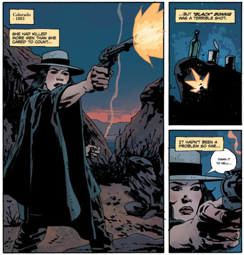 Last week in panels: FATALE #13 by Ed Brubaker and Sean Phillips