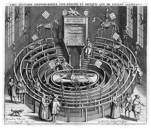 Anatomical Theatre, Leiden - 1610