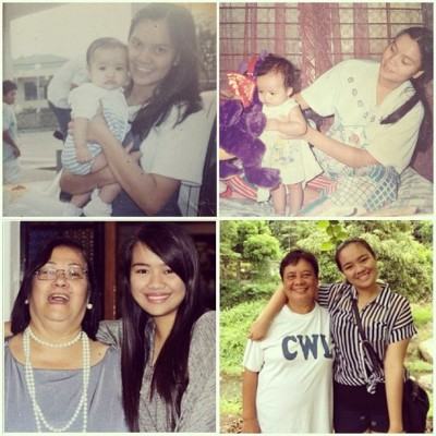 Happy Mothers' day, Mom, Grandma and Nanay!! :)) Thank you for shaping me into a person I like and am proud to be. You're everything I can't live without and everything I want to be in the future. I love you!! 😘