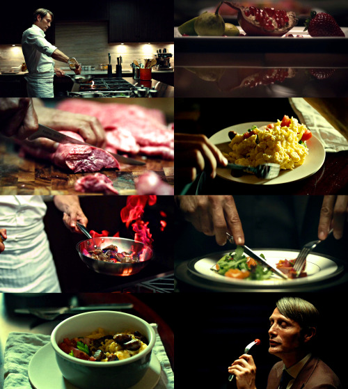 Hannibal - a show about food