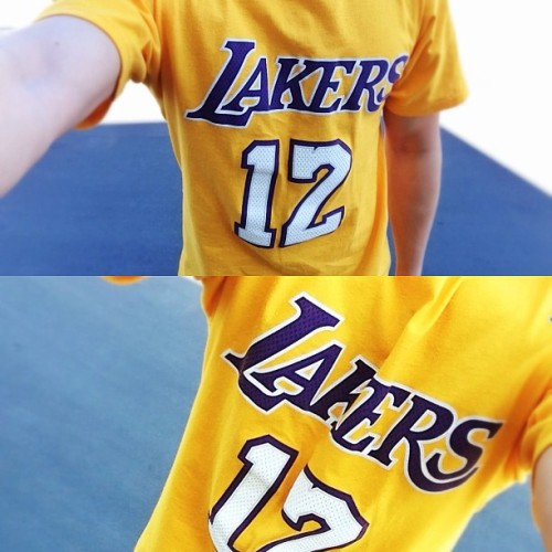 Lakers Nation all day everyday ✌💛💜🏀 #ootd #Lakers #GoLakers #lakersnation #selfie #me #dwighthoward