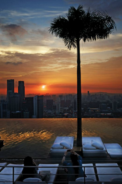 The Ultimate Sunset Experience from Sands Sky Park - By williamcho
