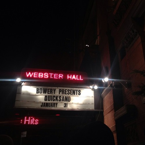 jaws-theme-swim:  I don't think I'm ready for this jelly  (at Webster Hall)