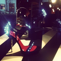 The next craze: Light-up evening shoes? @cesarepaciotti says why not?!