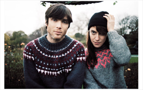 lovely people.. Cillian Murphy + Feist  by Mary Rozzi