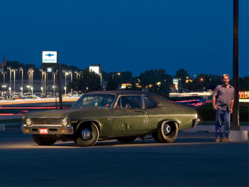 spdcrzy:  musclecardreaming:  1972 Nova…..twin turbo LS motored, runs 9's, 1,200 horsepower…  the ultimate sleeper.
